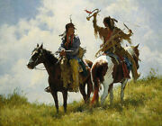 The Trophy Sold Out Limited Edition Signed Canvas - Howard Terpning