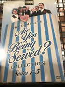 The Complete Are You Being Served Collection Series 1-5 Dvd Box Set 7 Disc Bbc