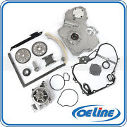 Timing Chain Kit For 00-08 Chevy Pontiac Saturn 2.2l Cover Gasket Oil Water Pump