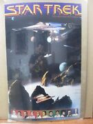 Vintage Poster Sci-fi Star Trek The Motion Picture 1979 Inv407