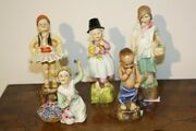 Royal Worcester Children Of The Nationandrsquos Entire Early Set By Freda Doughty