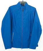 Nwt Cutter And Buck Blue Jacket Water + Wind Resistant Breathable Sz. L