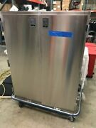 Blickman Ccc5-17 Case Cart With Two Stainless Wire Shelves New
