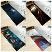 The Avengers Carpet Bedside Floor Mats Home Chair Anti-skid Area Rugs Rectangle