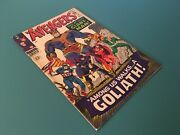 Avengers 28 F/vf 7.0 1st Collector