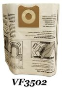 Replacements For Ridgid Vf3502 12-16 Gallon 23743 Wet/dry Allergen Vacuum Bags