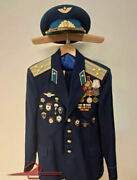 Ussr Cccp Russian Soviet Red Army Military Parade Uniform Paratrooper Colonel