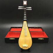 1/6 Musical Instrument Series - 20cm Wood Pipa Model For 12and039and039 Action Figure