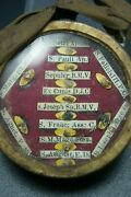 † 1800's Dnjc Bvm Mary Magdalene Apostle Multi Reliquary 12 Relics Ofm Waxseal †