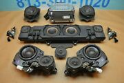 2011 W221 Mb S63 Bang And Olufsen Stereo Audio Speaker Complete Set W/ Amplifier