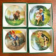Set Of 41 Donald Zolanand039s Collector Miniature Plates Special Moments Collection