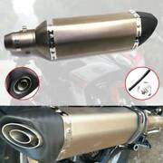 Motorcycle Exhaust Pipe Tail Tip Muffler For Buell Ulysses 2006-2010 Xb12x