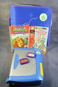 Leappad Writing Electronic Learning System Leap Frog Pad W/ Bag Games 30056