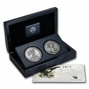 2012 U.s. Mint American Eagle San Francisco Two Coin Silver Reverse And Proof Eg1