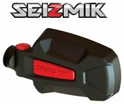 Red Seizmik Pursuit Side View Mirrors For 2010-2020 Can-am Commander 800 / 1000