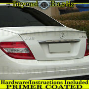 2008-2014 Mercedes W204 C-class 4dr Amg Factory Style Trunk Spoiler Wing Primer