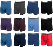 Fruit Of The Loom Menand039s Boxer Briefs 12 Pack Underwear Cotton Colors Vary