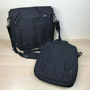 Victorinox Swiss Army Shoulder Bag Luggage Carry On Multi Compartment Lot Of 2