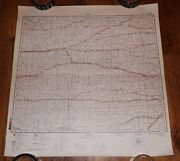Authentic Soviet Ussr Army Military Topographic Map Hays, Kansas Usa 127