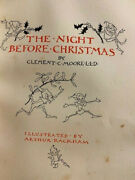 Clement Moore The Night Before Christmas Signed Limited Rackham Slipcase