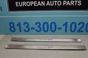 07-12 W216 Mb Cl550 Cl63 Cl65 Cl600 Amg Logo Outer Door Sills Left And Right Pair