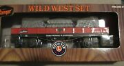 Lionel 6-26610 O-27 Lone Ranger Wild West Truss And Gondola Operating Couplers New