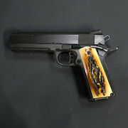 Duragrips - Ria Rock Island Armory 1911 Tactical Ambi Grips - Faux Stag