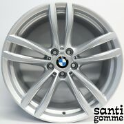 4 Rims Alloy 85 X 19and039and039 Bmw S 6 Gt G32 S 7 G11 Silver 7850579 Original
