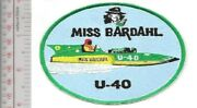 Vintage Hydroplane Miss Bardahl U-40 1958 - 1960 Unlimited Class Thunderboat Rac