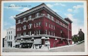 Wabash In 1920 Postcard Eagleand039s Theatre - Indiana Ind
