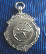 Sterling Silver Athletic Medal - High Jump 1957 Fattorini And Sons - Not Engraved