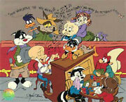 Chuck Jones Signed Wed Wivver Wahweeand039 Hand Painted Animated Cel