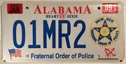 Police Fop Member License Plate State Trooper Government Sheriff Law Shp Badge