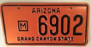 Rare Municipal Government Police License Plate Sheriff Officer Official 6902