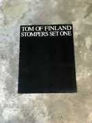 Tom Of Finland Stompers Set One Portfolio 1978 3 Lithographs Signed Numbered