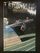 Star Trek Discovery Succession Retailer Incentive 4 2018 Idw Variant Comic Book