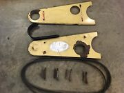 Belt Guard Assembly And 3 Belts For Vicon Cm240 Disc Mower