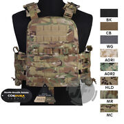 Emerson Navy Cage Plate Carrier Ncpc Vest Tactical Load-bearing Body Armor Vest