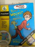 New Leapfrog My First Leap Pad Dr. Seuss Thereand039s A Wocket In My Pocket