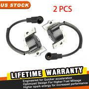 2 Packs Ignition Coil For Kawasaki Series Engines Models Fh430 Fh531 Fh500v Us