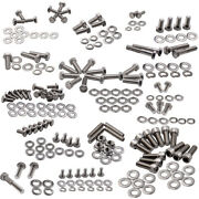 205pcs Engine Bolts Kit Stainless Small Block 265 283 Allen Fit For Chevy Sbc