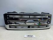 07-14 Ford Expedition Front Upper Radiator Bumper Grille Grill Oem X1305