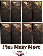 Chocolate Floral Hair Inlay Long Wallet - Customizable