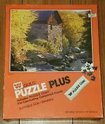 Vtg Whitman Guild Puzzle Plus Old Mill 600 Piece Jigsaw 16 × 20 1975 Unopened