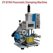 8090mm Printable Area Pneumatic Hot Foil Stamping Machine Bc