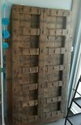 Furniture Antique India Door Large / Heavy Very Rare Collectible Piece -amazing