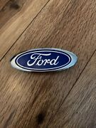 New Oem Mustang Explorer Ford 4 Grille Emblem Blue Oval F17b8c020aa Shps Today