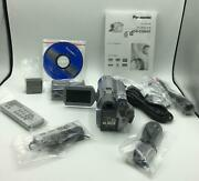Panasonic Vdr-d300 3.1mp 3ccd Dvd Camcorder - 10x Optical Stabilized Zoom - Vgc