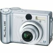 Canon Powershot A95 5mp Digital Camera With 3x Optical Zoom 9459a001