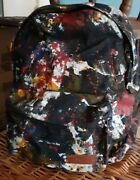 Rare Eastpak Dlab Backpack - Action Painting 1 Of 250